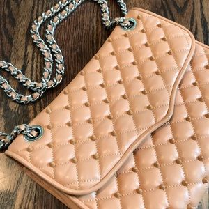 Rebecca Minkoff - Leather Studded Quilted Bag